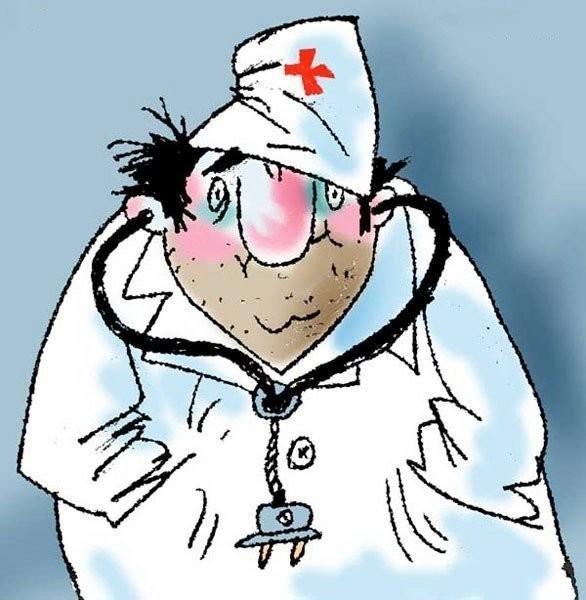 Картинка врача прикольная
