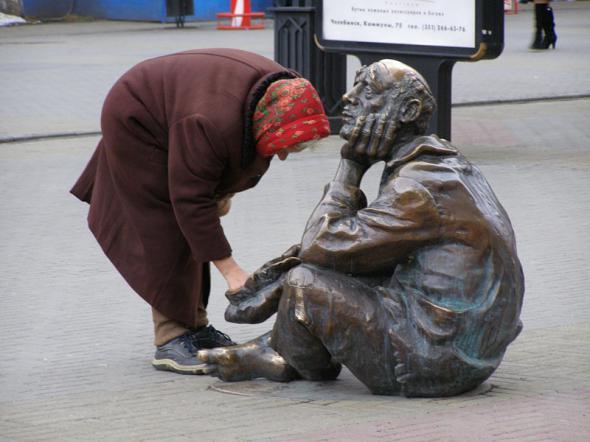 Почему в богатой России народ живет в нищете?