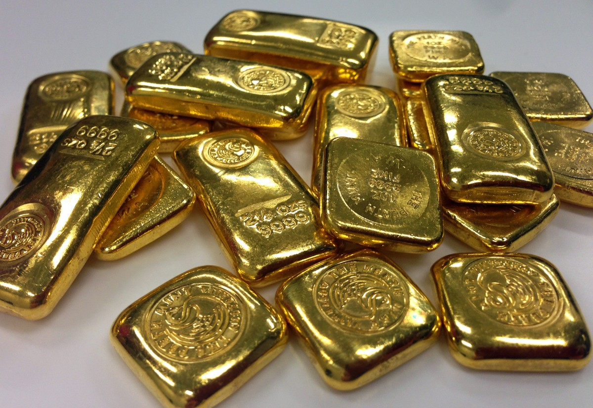 Смотреть картинки слитки золотая