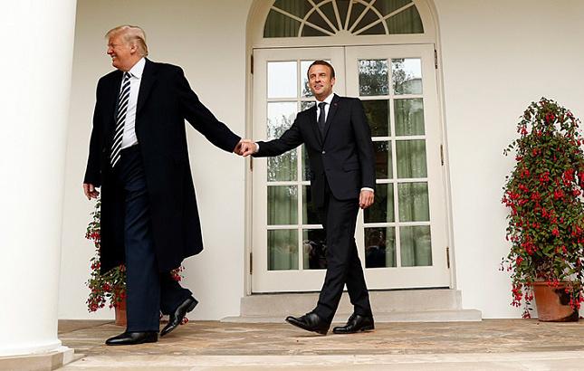 Американист раскрыл истинную причину визитов Меркель и Макрона в США