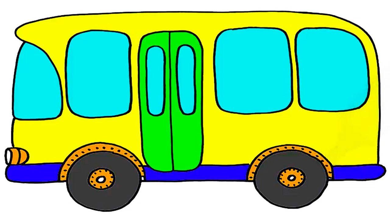 Картинки автобусов для детей