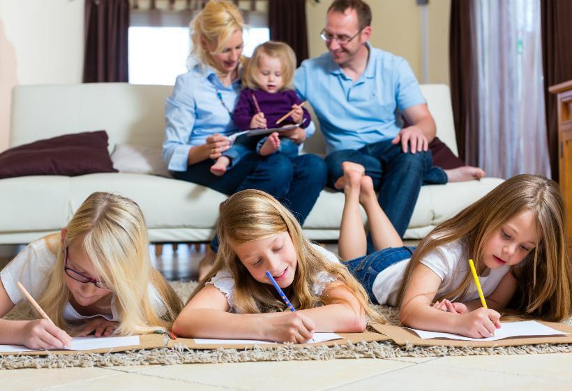 Многодетные семьи получат право уходить в отпуск в любое удобное время
