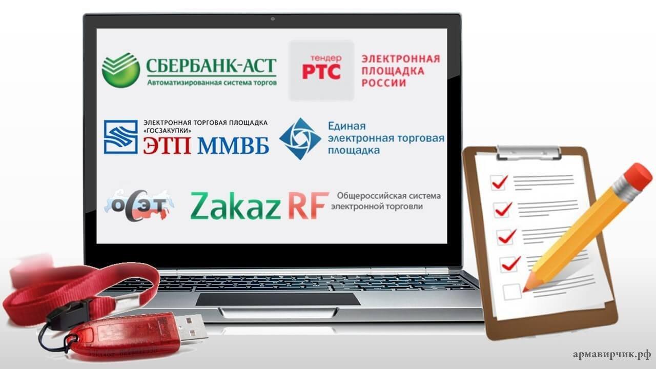 Утверждены перечни операторов электронных площадок для  проведения     электронных процедур закупок