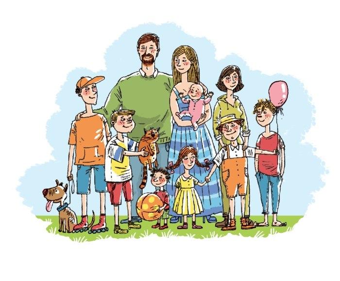 Законопроект о новых выплатах многодетным семьям
