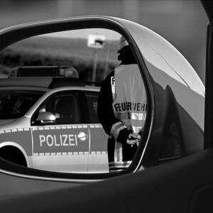 Авария на парковке в Германии – дело серьёзное
