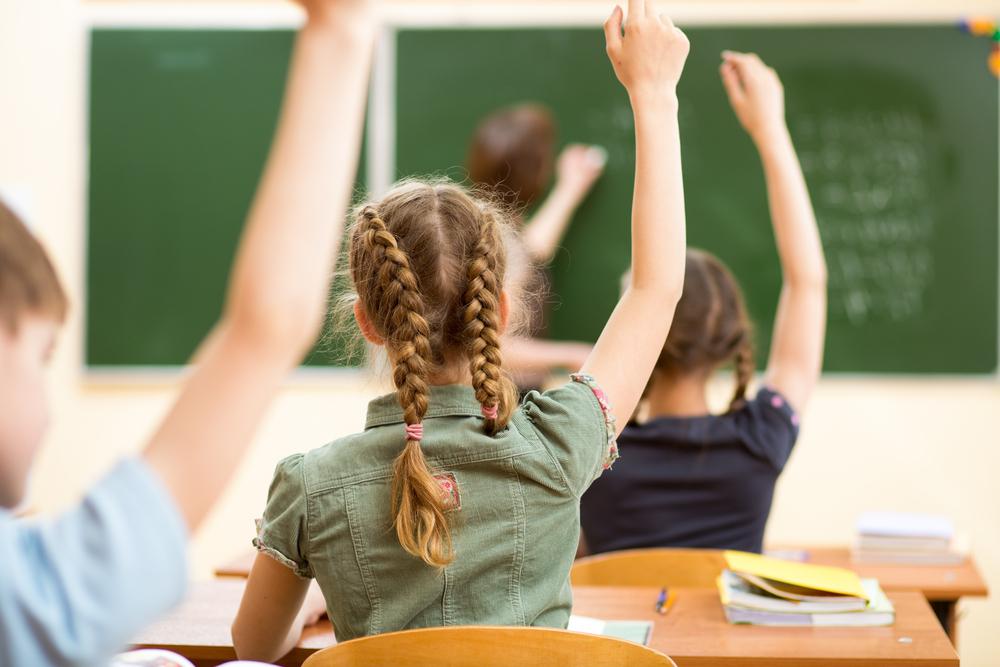 Фото дети на уроке в школе