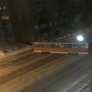Происшествия: Трамвай сошел с рельсов в Череповце из-за наледи
