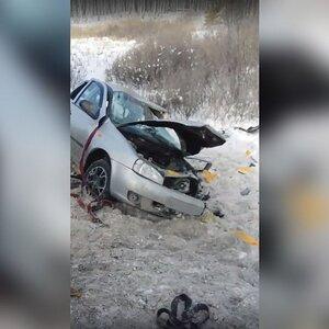 Братья-близнецы погибли в аварии с большегрузами на трассе М-5