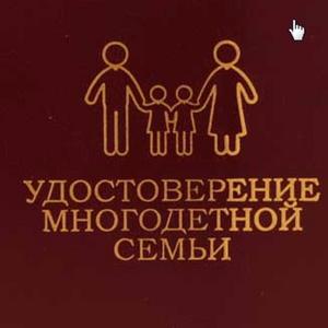 Закон о многодетных семьях с 1 января 2019 года