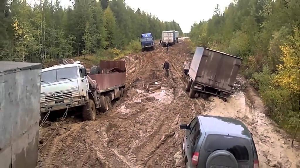 Почему в России нет нормальных дорог?