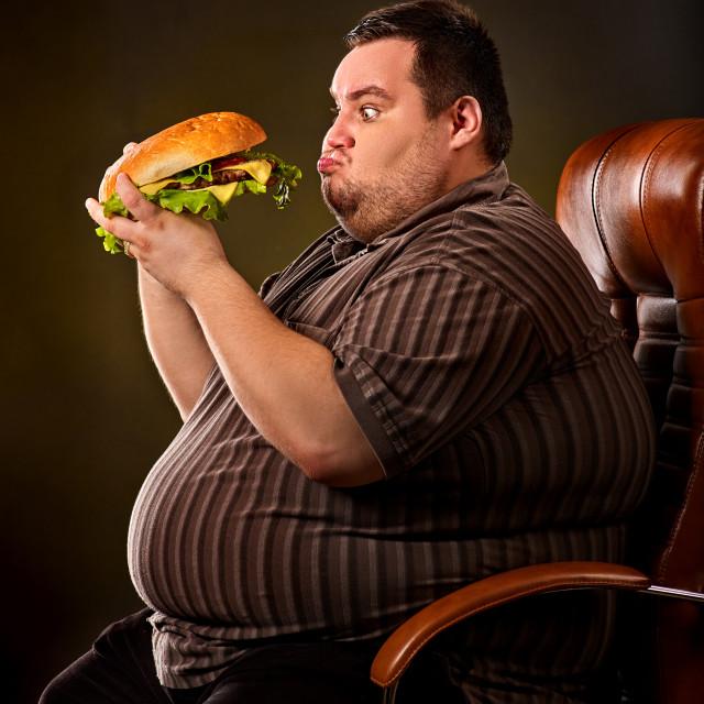 понимаю картинки толстяков с едой фото много красного
