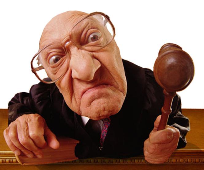 Как наказать судью за грубость и предвзятость