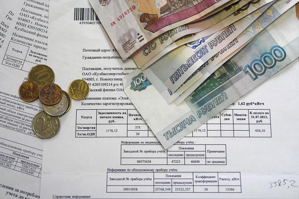 содержит ли кредитная история задолженность по жкх