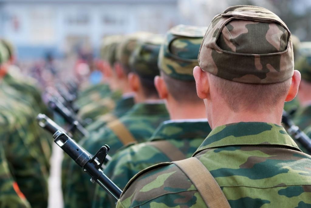 Стартовал весенний призыв в армию