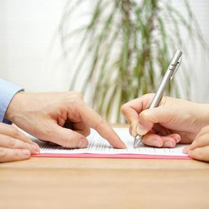 Составили письменный договор купли-продажи, а зарегистрировать  денег не хватило