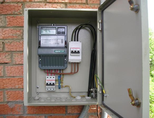 Подключение загородного дома (дачи) к электросети