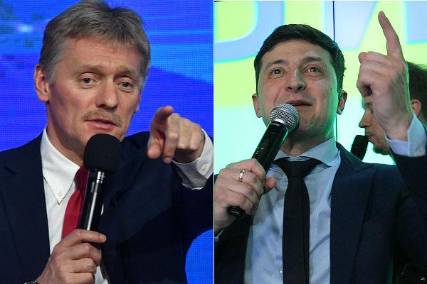 В Кремле ответили Зеленскому по поводу компенсaции зa Крым и Донбaсс