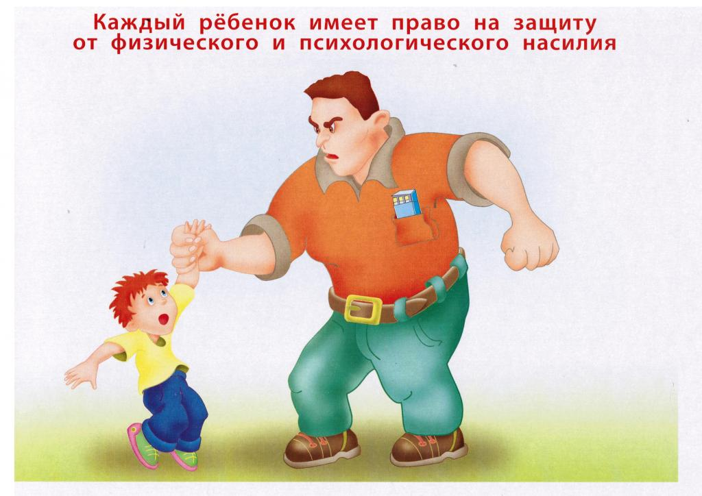 Картинки права и насилие