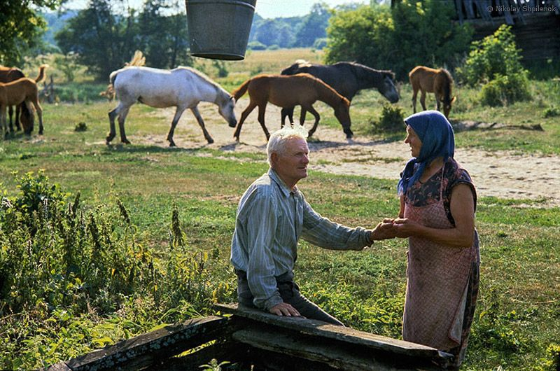тех человек в деревне фото учебу силезском