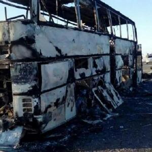 Из недавнего Прошлого . Суд в Актюбинской области вынес приговор по делу о сгоревшем автобусе