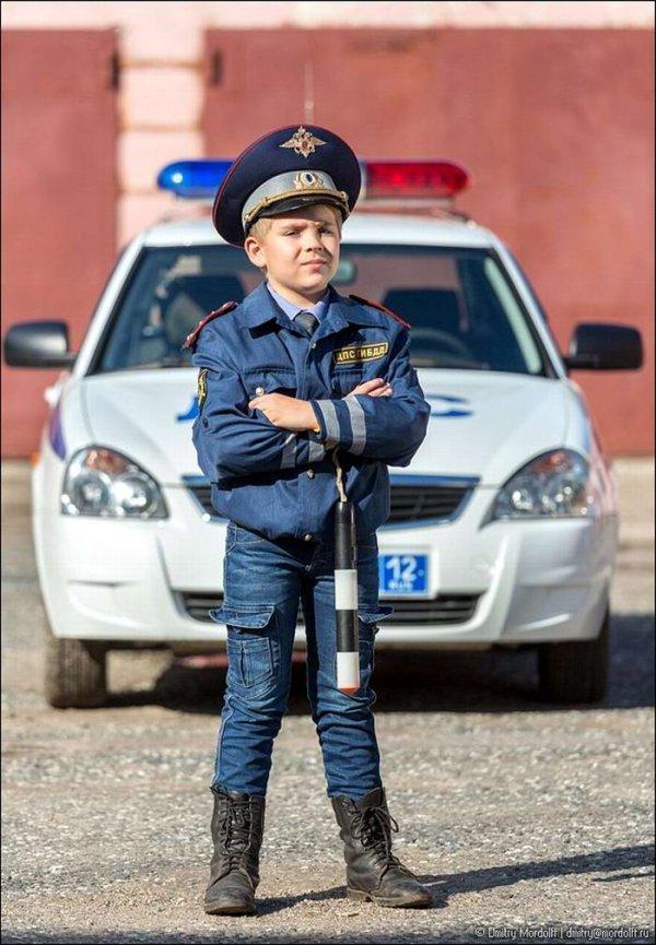 Дети ловят преступников