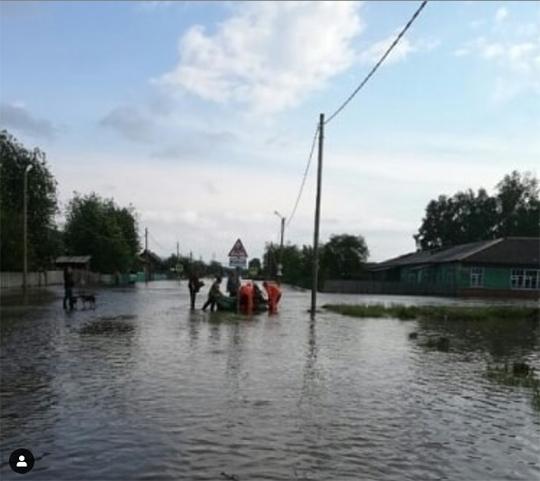 О ситуации в районах, пострадавших от паводка в Иркутской области.