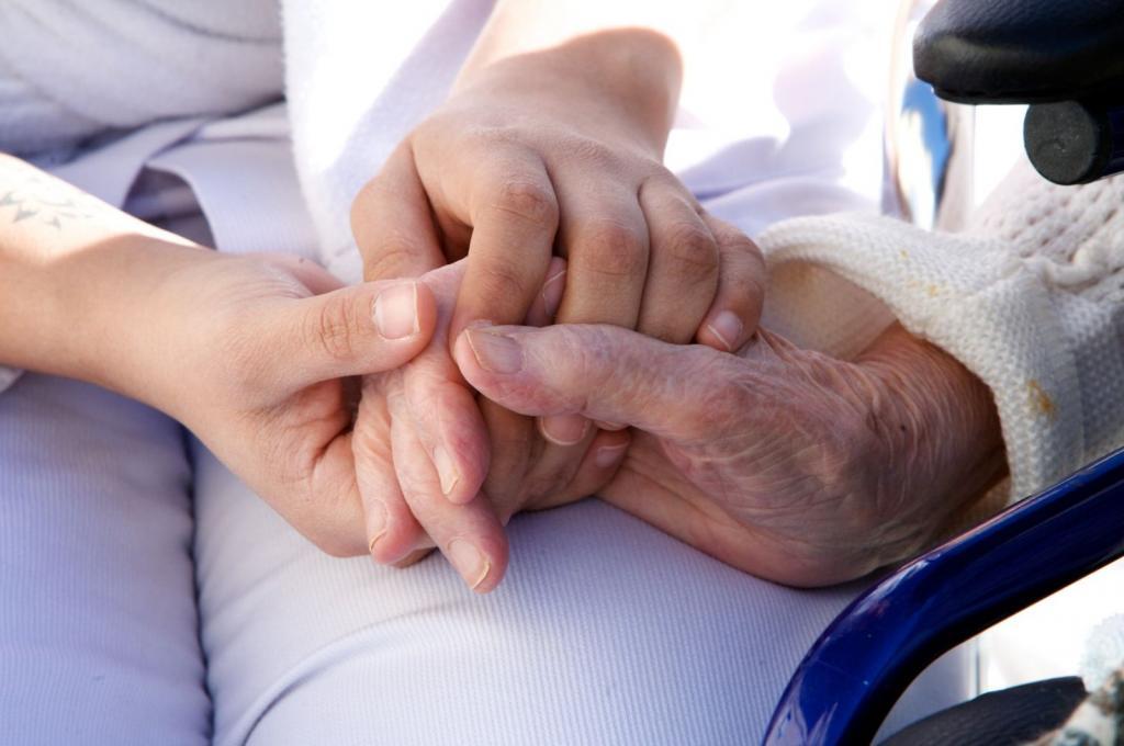 Патронаж над пожилыми лицами. Алгоритм действий.