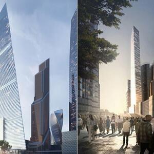 Москва обнародовала планы строительства самой высокой в Европе башни.