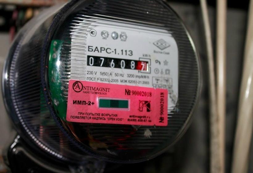 Антимагнитные пломбы на приборах учета электрической энергии