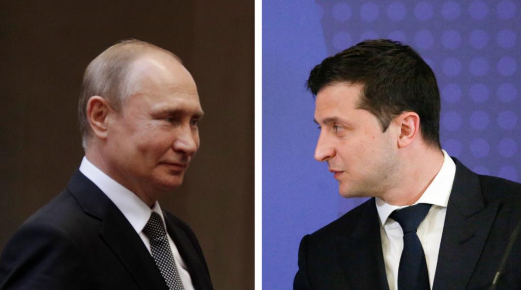 Путин впервые провёл телефонный разговор с Зеленским.