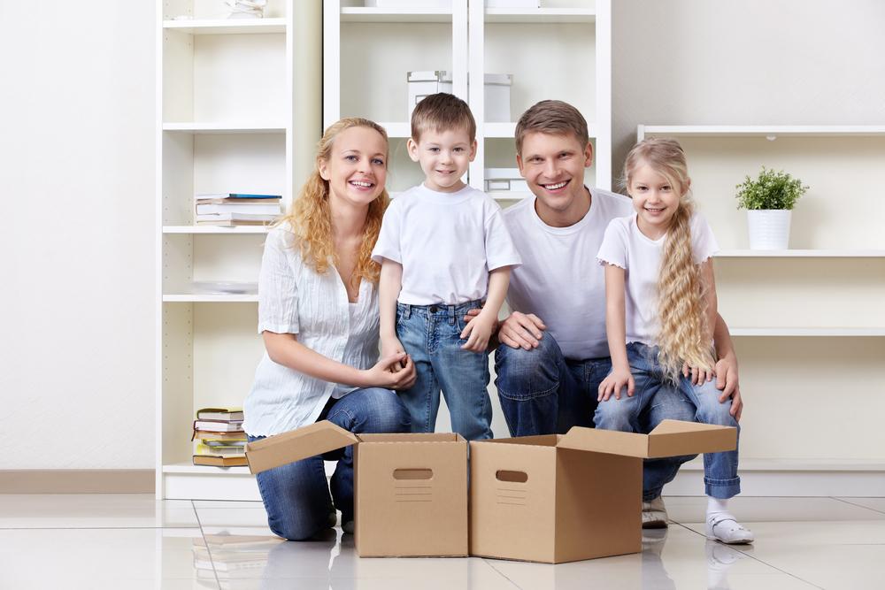 Картинки новая квартира семья