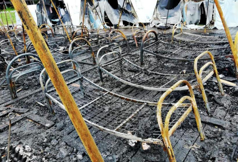 Власти уточнили причину пожара в детском лагере в Хабаровске