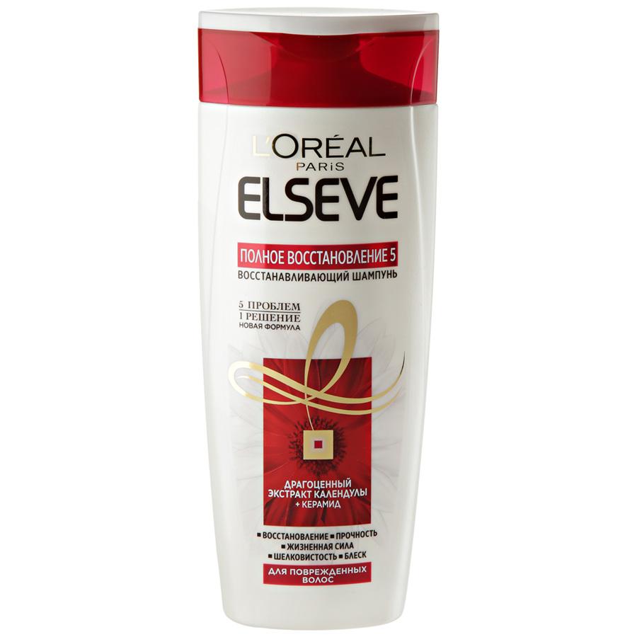 Результат использования шампуня ELSEVE.