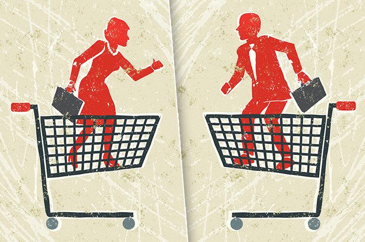 Потребительская корзина М и Ж