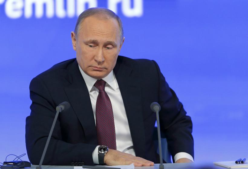 Путин остался без отпуска