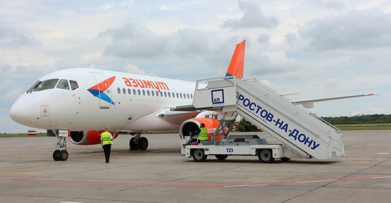 Пассажир рейса из Ростова побил стюардессу: полиция начала проверку