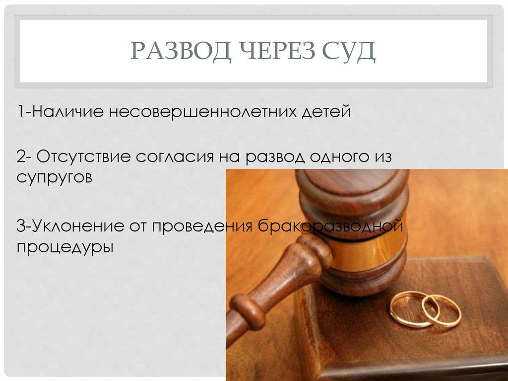 Процедура расторжение брака