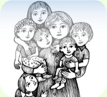 Помощь многодетным семьям. Зачем рожать?