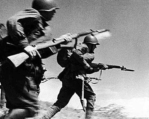 Каких вражеских солдат не убивали в штыковой атаке
