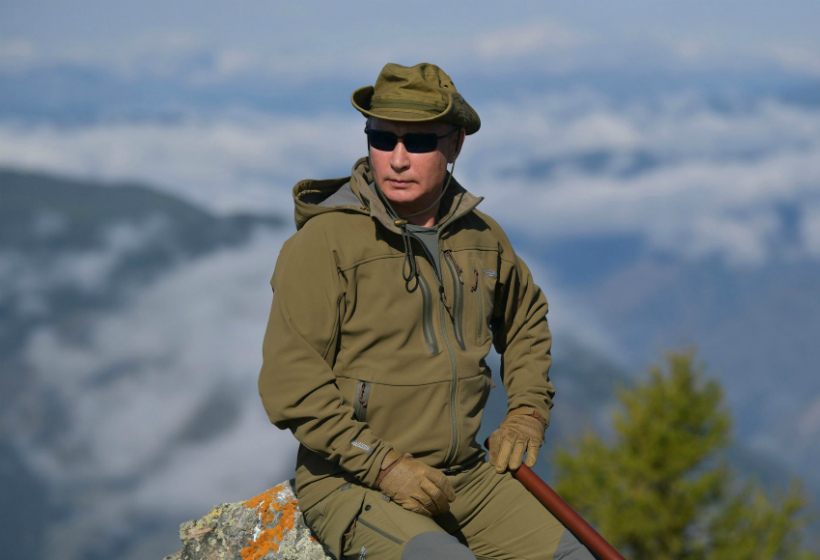 Стало известно, почему Путин всегда отдыхает в России