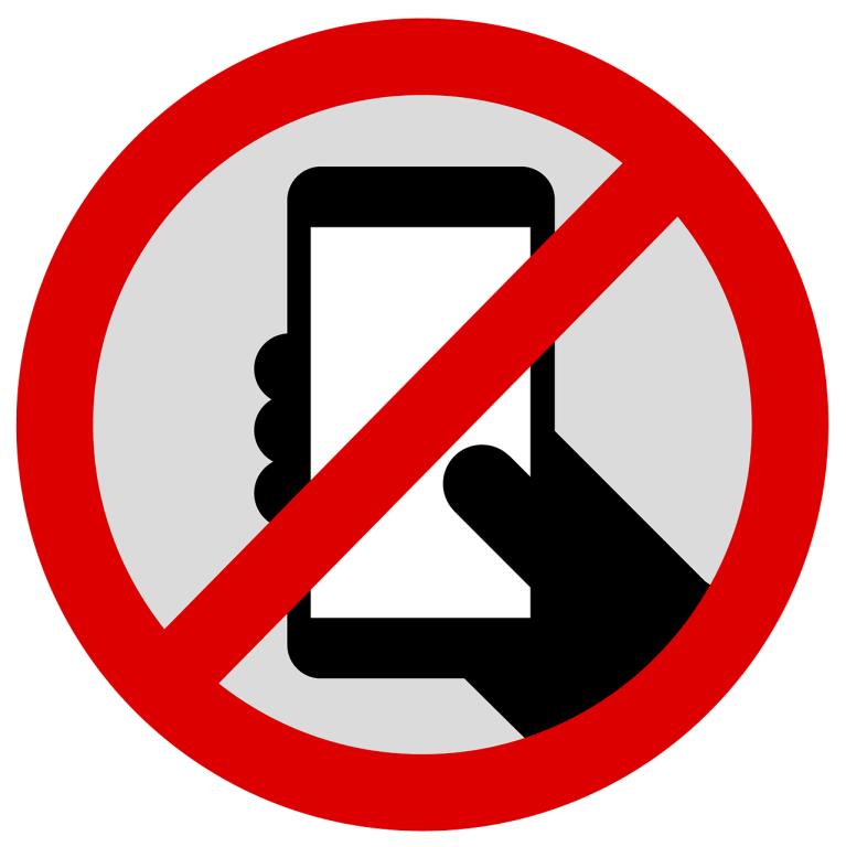 Запрет на использование мобильных телефонов в школе.