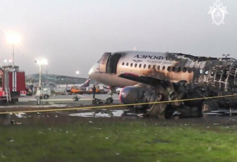 Стала известна причина смерти большинства пассажиров в сгоревшем SSJ-100 в Шереметьеве