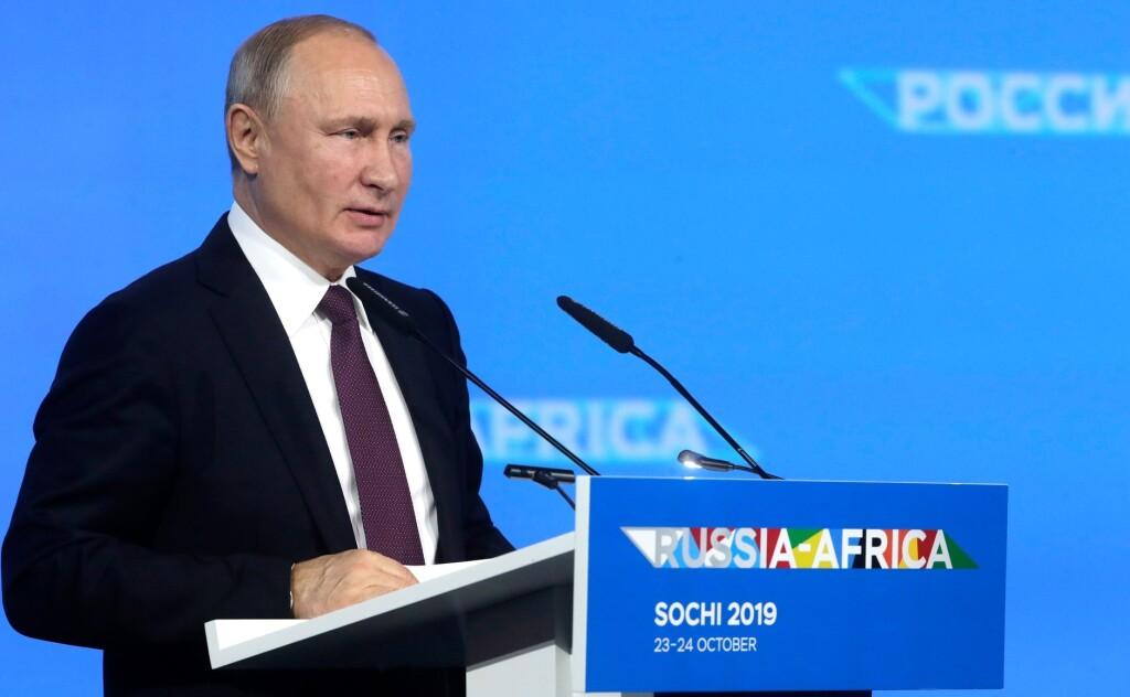 Почему Владимир Путин прощает долги Африке