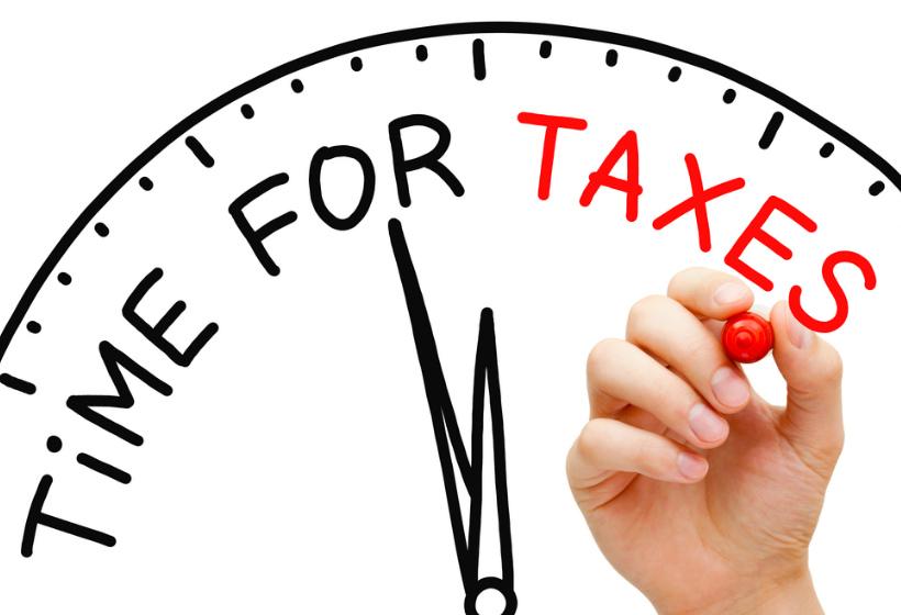 Взыскание налога с физического лица