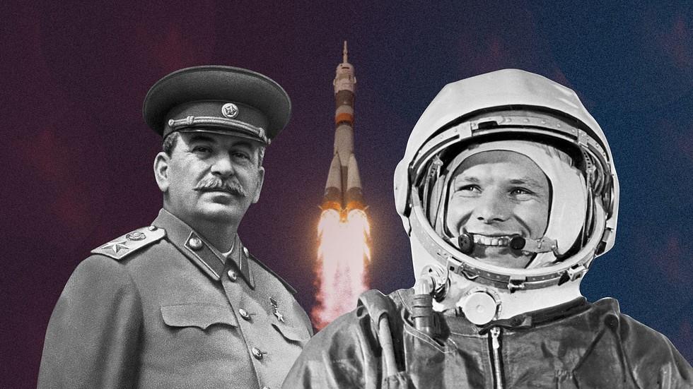 Если признать честно, то Гагарин полетел в космос благодаря Сталину