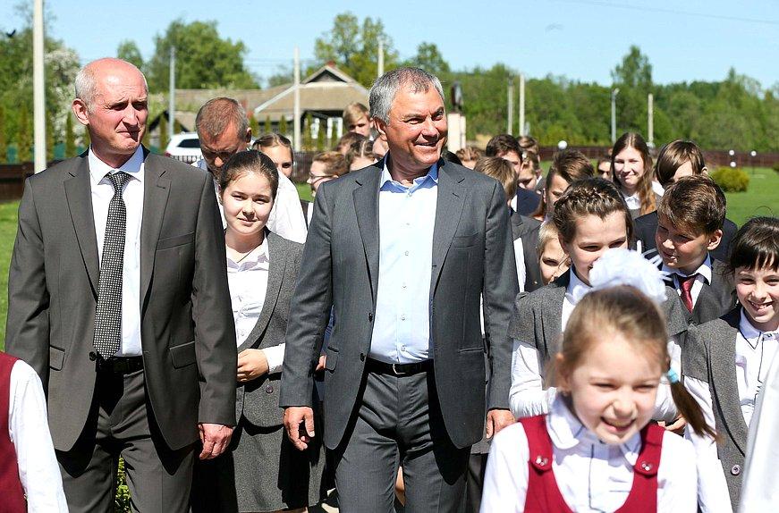Звание Лучшая сельская школа - 2019 получил лицей председателя Госдумы Володина. А почему?