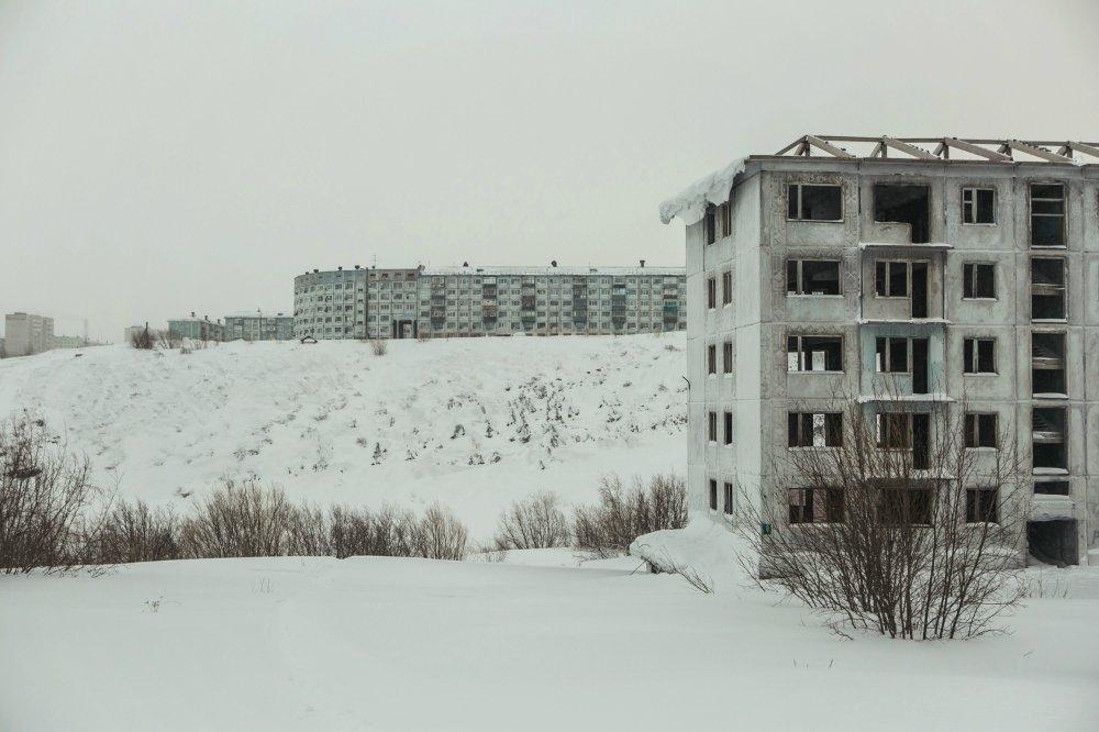 довольно фото воркутинских поселков ферма это