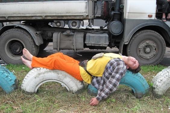 смешные фотографии водителей спящих его видений были