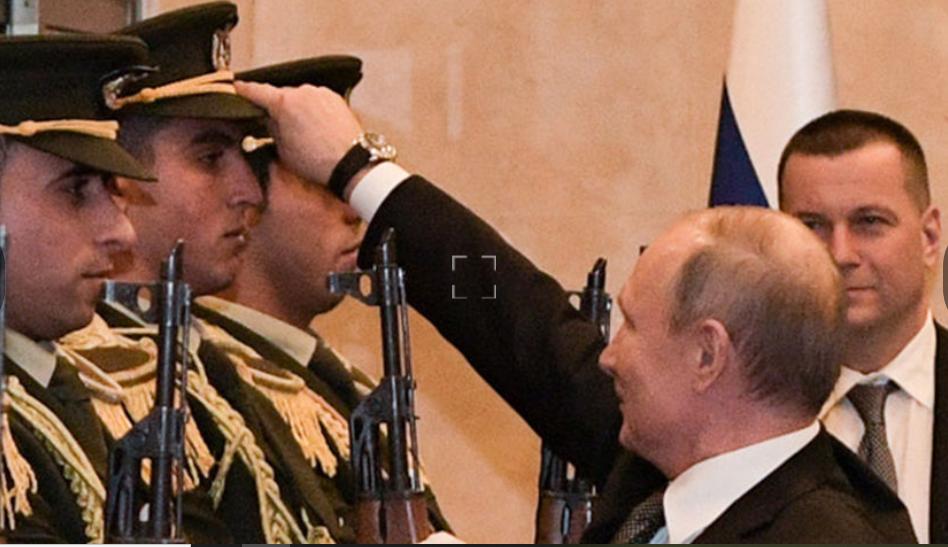 Путин покорил арабский мир уважительным жестом