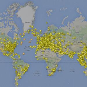 Как отследить, где самолет? Возможности Flightradar24